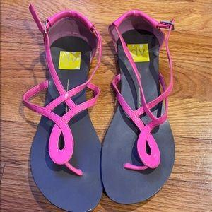 Dolce vita bubble gum pink sandals